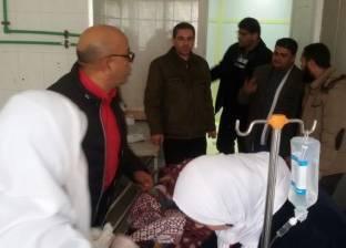 """تحويل 9 مصابين وجثتين من مستشفى سيوة إلى """"مطروح العام"""""""