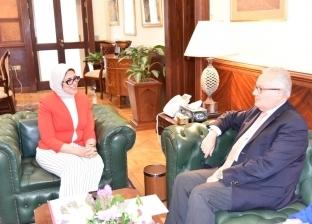 تفاصيل لقاء وزيرة الصحة بالسفير الإيطالي لتعزيز التعاون