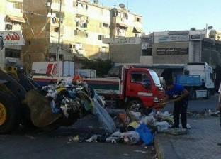 البيئة: رفع مليون طن قمامة من المحطات في الأسكندرية