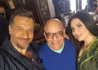 """ماجد المصري يواصل تصوير مسلسل """"الطوفان"""" مع عبير صبري"""