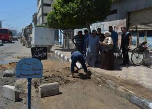 محافظة الدقهلية: عودة المياه إلى 5 قرى بمركزي طلخا وشربين
