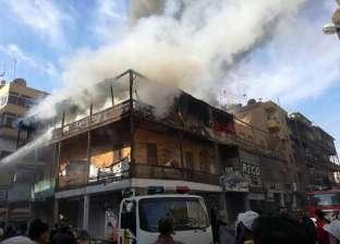 نشوب حرائق في مخبز و4 منازل في الشرقية