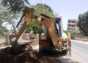 محافظ سوهاج: استمرار أعمال النظافة في مدينة طما