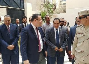 """""""سكرتير الإسكندرية"""" يتفقد عددا من اللجان الانتخابية"""