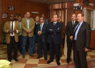 محافظ الإسكندرية يتفقد شركة الصرف الصحي بالمحافظة