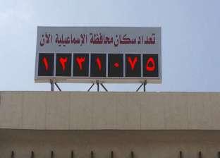 الساعة السكانية: 984 زيادة في عدد سكان محافظة الإسماعيلية خلال 10 أيام