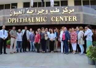 وفد روماني يزور مراكز المنصورة الطبية على هامش مؤتمر كلية التمريض