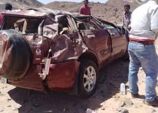 مصرع 2 بينهما رضيع وإصابة 16 في حوادث متفرقة بالبحر الأحمر