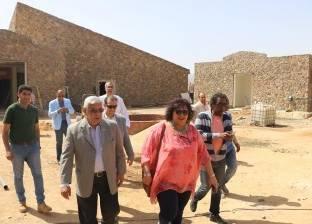 إيناس عبدالدايم تطالب بوضع جدول زمني لعمليات تطوير قصر ثقافة شرم الشيخ