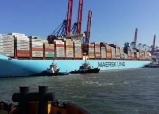"""""""قناة السويس للحاويات"""" ترحب بتخفيض 50% من رسوم عبور السفن العملاقة"""