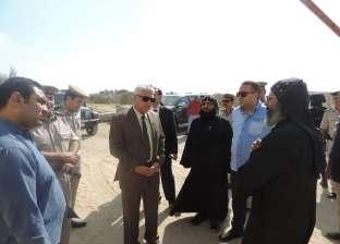 مدير أمن البحيرة يتفقد تأمين الطريق الصحراوي والأديرة بوادي النطرون