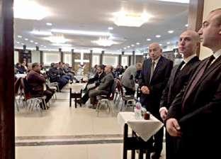 وحيد حامد ومحمد فوزي والقعيد يعزون في سمير سيف
