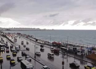 تساقط الأمطار على الإسكندرية بنوه الفيضة الكبرى