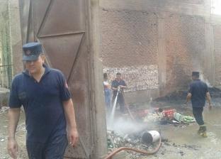 السيطرة على حريق بمصنع مياه غازية بقرية الجبل الأصفر في الخانكة