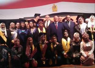 محافظ القاهرة يكرم أوائل الشهادة الإعدادية