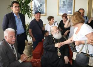 """محافظ جنوب سيناء ورئيس دير سانت كاترين يستقبلان وفد """"العودة للجذور"""""""