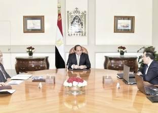 «السيسى» يطلب تحويل مصر إلى مركز إقليمى لتجارة البترول والغاز وتنمية اكتشافات شرق المتوسط