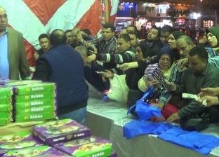 """""""مستقبل وطن"""" بالإسكندرية يفتتح منفذا لبيع حلاوة المولد بأسعار مخفضة"""
