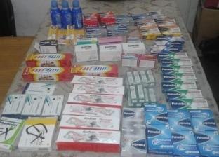 ضبط أدوية مجهولة المصدر ومنتهية الصلاحية بالبحر الأحمر