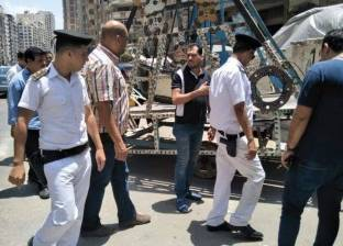 شرطة المرافق تنفذ 469 إزالة إدارية وتضبط 32 بائعا جائلا
