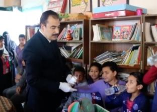 """إطلاق حملة القضاء على """"الديدان المعوية"""" بين التلاميذ بالسويس"""