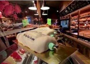 خباز ألماني يصنع كعكات على شكل حقن لقاح فيروس كورونا «فيديو»