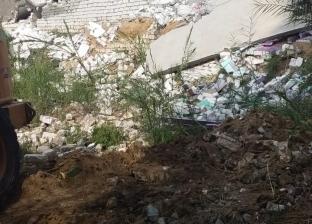 إزالة تعديات على أراضي الدولة بهويس البستان في البحيرة