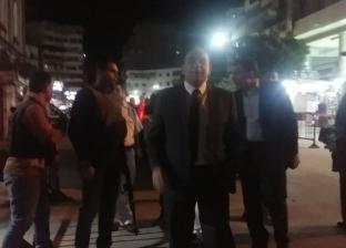 مدير أمن بورسعيد يتفقد تأمين الكنائس ويهنئ أقباط مصر