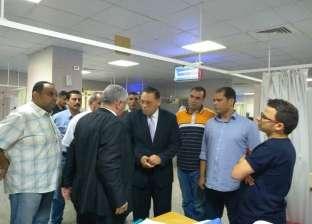 """""""غراب"""" يوجه بتواجد طبيب للإشراف على قسم الغسيل الكلوي بمستشفى أبو حماد"""