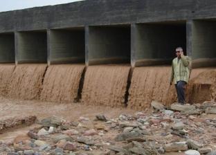 بالصور| رئيس «أبورديس» يعلن إجراءات احترازية لمواجهة سيول «وادي فيران»