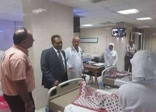افتتاح قسم للعناية المركزة والإفاقة بمستشفى الشيخ زويد المركزي