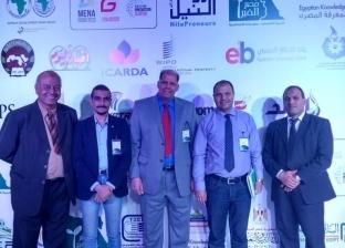 جامعة طنطا تفوز بالميدالية البرونزية بمعرض القاهرة الدولي للبحث العلمي