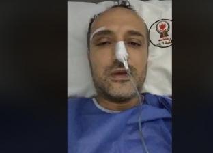 """شريف مدكور ينفي علاجه على نفقة الدولة: """"مش باخد حاجة مش من حقي"""""""