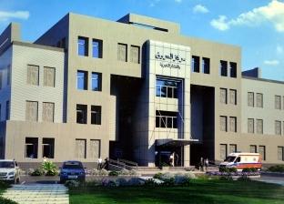 تسليم موقع أول مستشفى للحروق بالقناطر للشركة المنفذة