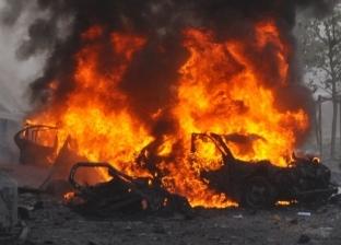 بالفيديو| انفجار سيارة مفخخة بالقرب من قوات أمريكية جنوبي سوريا