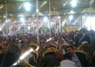مؤتمر جماهيري لدعم السيسي في أبو حمص بالبحيرة