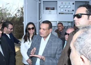 محافظ البحيرة يفتتح وحدة توزيع الكهرباء الجديدة في رشيد