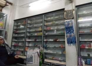 ضبط صيدلية غير مرخصة تبيع أدوية مهربة في الدقهلية