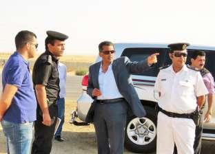 """مدير أمن الإسماعيلية يتفقد """"السحر والجمال"""" بالطريق الصحراوي"""