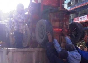 حي شرق الإسكندرية يشن حملة مكبرة لإزالة الإشغالات
