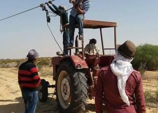تأجيل إصلاحات الكهرباء جنوب العريش بسبب أعمال المداهمات الأمنية