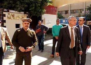 مدير أمن المنيا يتفقد خدمات محيط الحرم الجامعي