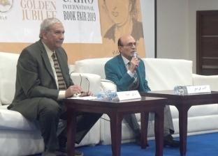 أقيم اللقاء الفكري بمعرض الكتاب بحضور الفنان محمد صبحي