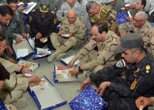 """""""الحلبي"""" عن زيارة السيسي لسيناء: زادت من الروح المعنوية لدى القوات"""
