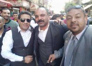 بالصور| أحمد شيبة يقود مسيرة حاشدة بالإسكندرية للحث على التصويت