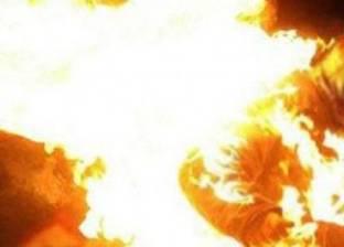 القبض على عاطل بتهمة إشعال النيران في زوجته حتى الموت بالسويس