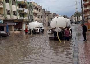 شمال سيناء تستعد لمواجهة السيول المحتملة بـ4 كباري