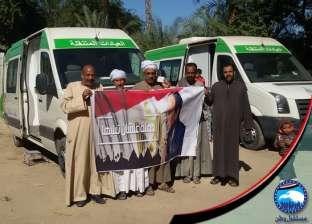 """""""حبيب"""" يحصل على موافقة وزارة التخطيط لرصف قرية كوم النجار"""