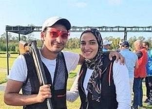 أحمد قمر وماجي العشماوي.. حكاية حب بدأت من ميدان الرماية تنتظر التتويج في طوكيو