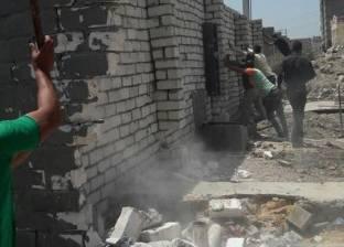 إزالة 13 حالة تعدي على الطريق الزراعي السريع شرق الإسكندرية